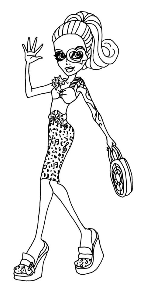 coloring pages monster high dolls 17 best images about art coloring pages on pinterest
