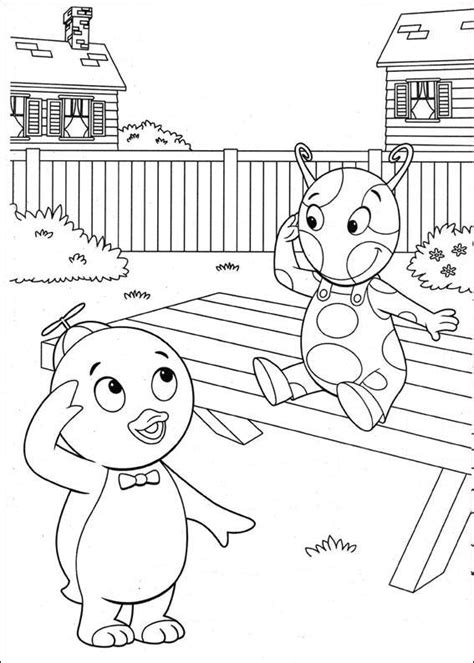 backyardigans halloween coloring pages free printable backyardigans coloring pages for kids