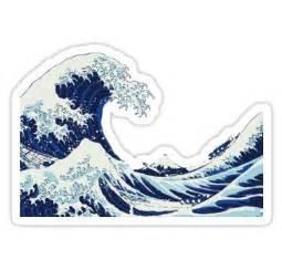 big wave sticker  seijiart tumblr stickers