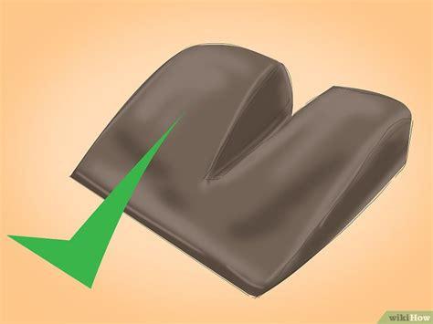 cuscino coccige come usare un cuscino per il coccige 12 passaggi