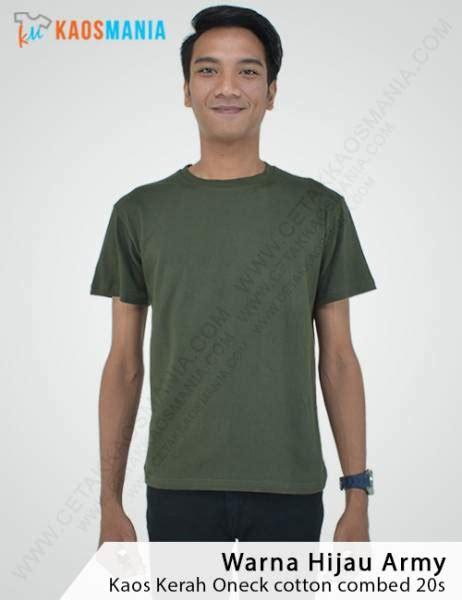 Kaos Lengan Panjang Hijau Kaos Polos Cotton Combed Big Size harga kaos polos grosir murah bahan berkualitas 100