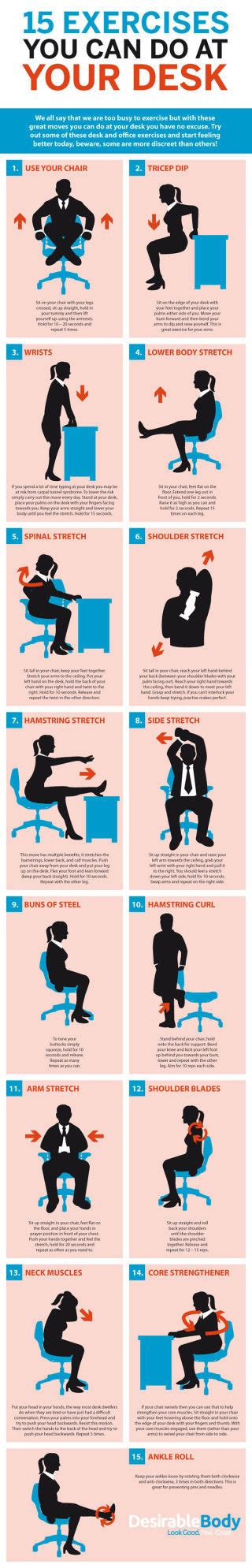 exercises you can do at your desk 15 exercises you can do at your desk pictures photos and