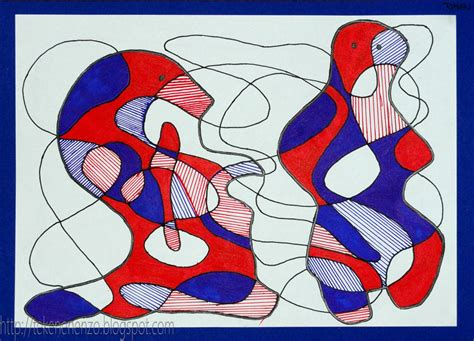 6 Drawing Lessons by Tekenen En Zo In De Stijl Dubuffet
