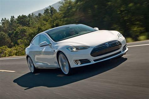 Tesla Solar Powered Car Tesla Hints Solar Powered Electric Car Charging Through