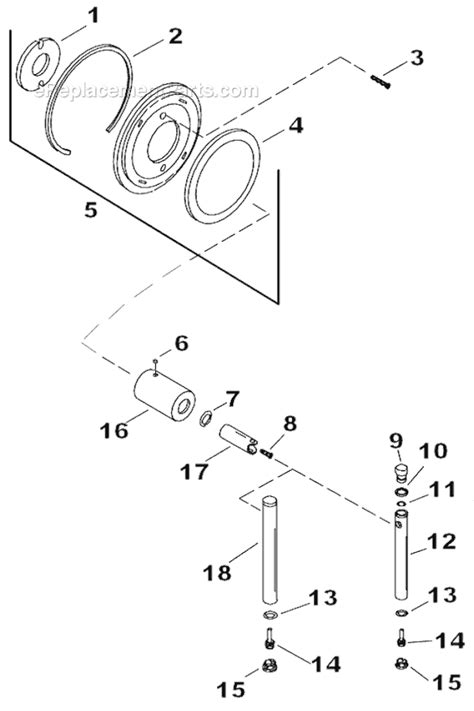 Shower Parts Names by Kohler K T8228 4 Parts List And Diagram