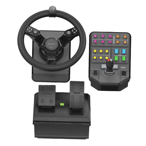 logitech volante logitech g saitek farming simulator controller volant pc