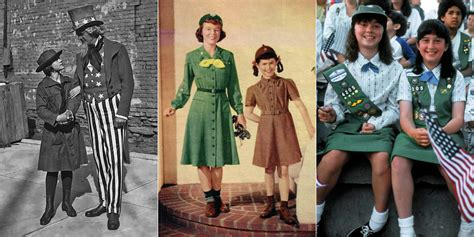 girls scouts of the usa girls scouts of northeast texas world girl scout uniforms through the years iconic girl scout