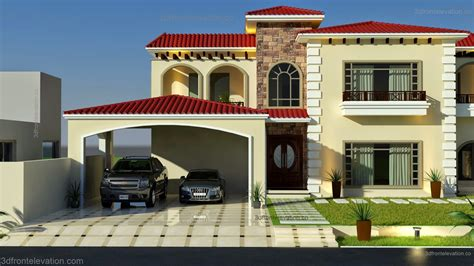 3D Front Elevation.com: Beautiful Mediterranean House
