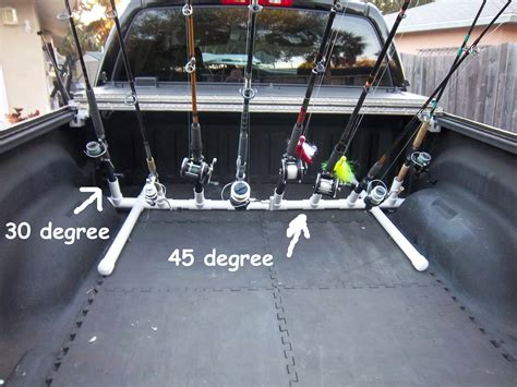 fishing pole holder for truck bed new product design need input truck bed rod rack storage transport the hull truth