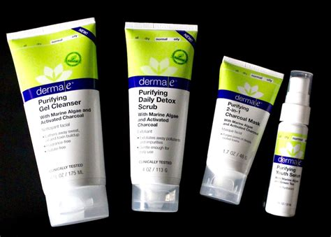 Can Detox Cause Acne by Detox Your Skin With The Derma E Purifying Skincare Collection
