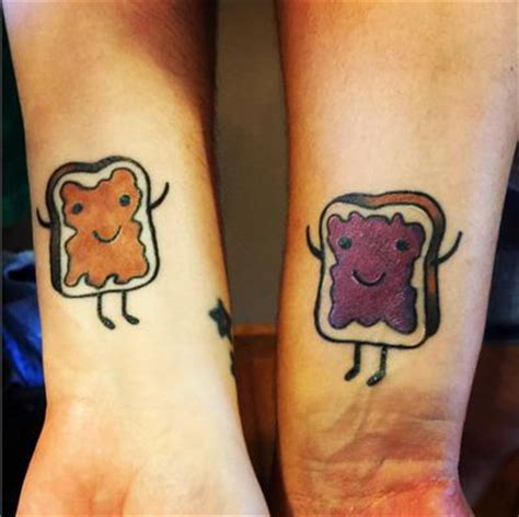 peanut butter and jelly tattoo 7 ideas for bffs cleo singapore