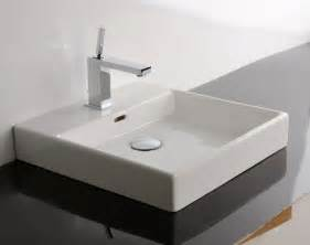 bathroom sink and counter ws bath collections plain 45a counter top sink 17 7 quot
