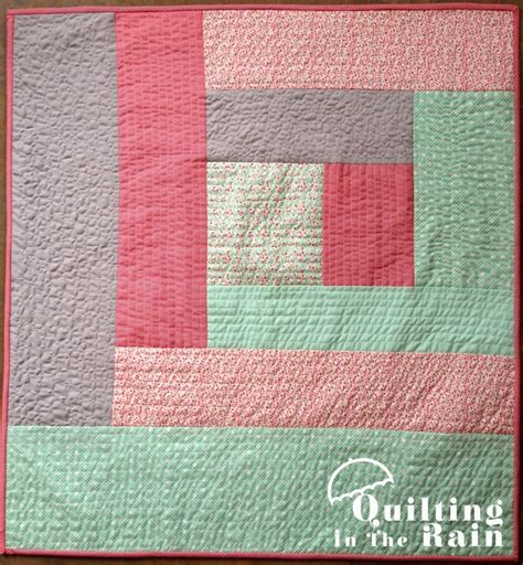 You Quilting by Quilt As You Go Log Cabin Tutorial Quilting In The