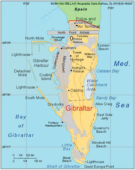 printable road map of gibraltar a trip to gibraltar task 8