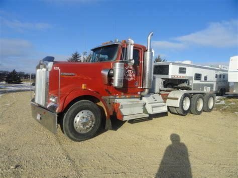 kenworth heavy haul for 1998 kenworth w900 tri axle semi tractor heavy haul day