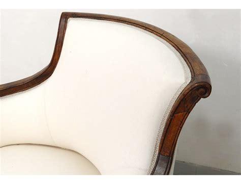 chaise merisier superbe duchesse en bateau chaise longue merisier