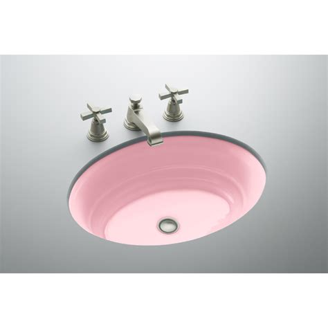 kohler cast iron bathroom sink shop kohler cast iron bathroom sink at lowes com