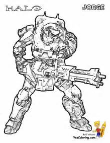 Halo Reach Coloring Pages 301 moved permanently
