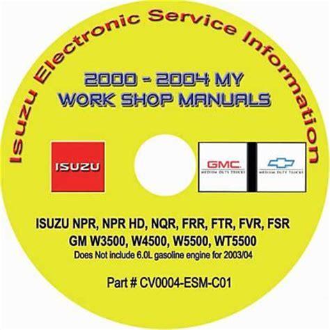 service manual small engine repair training 2000 gmc sierra 1500 transmission control gmc 2000 2004 isuzu n f series gmc chevrolet w series diesel engines factory workshop