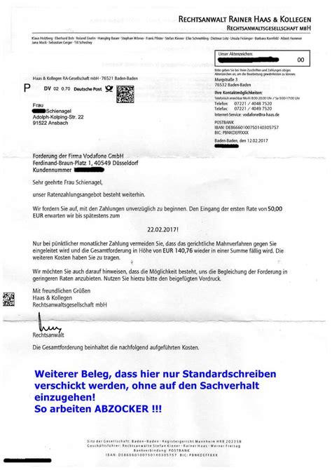 Musterbrief Beschwerde Vodafone Vodafone Mediaspar Vodafone Erfahrungen