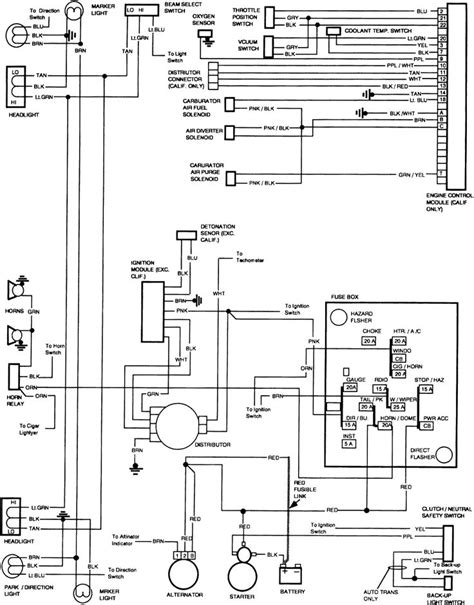 free wiring diagram 1991 gmc wiring schematic for