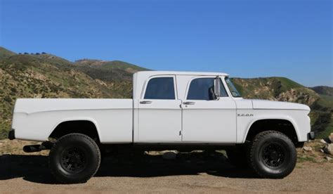 icon 4x4 d200 1965 icon 4x4 d200 dodge crew cab for sale