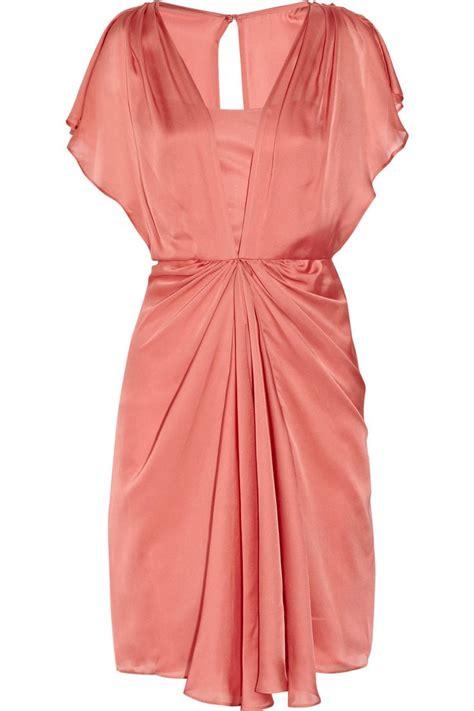 Net A Porter Sale Dressing Like A Just Got Cheaper by Venus Draped Silk Dress