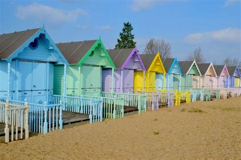 family days out hire a beach hut on mersea island essex