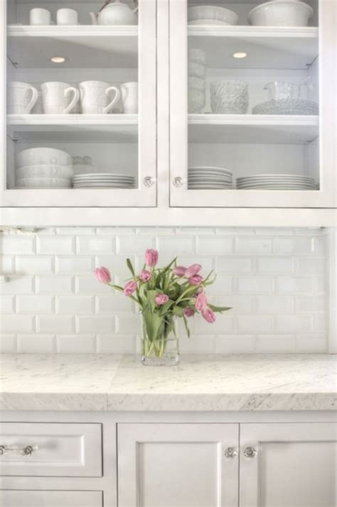 subway style tile dress your kitchen in style with some white subway tiles