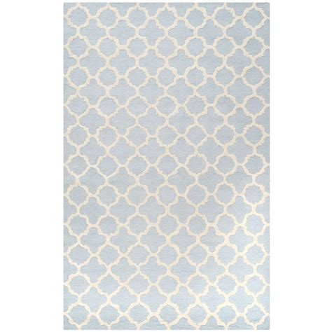 light blue area rug safavieh cambridge light blue ivory 6 ft x 9 ft area rug cam130a 6 the home depot