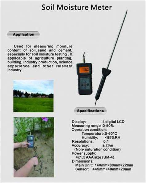 Jual Alat Soil Test jual soil moisture meter alat pengukur kelembaban tanah