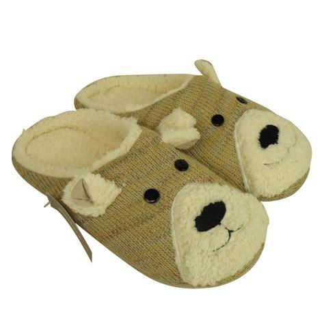 animal slippers animal mule slipper warm novelty gift