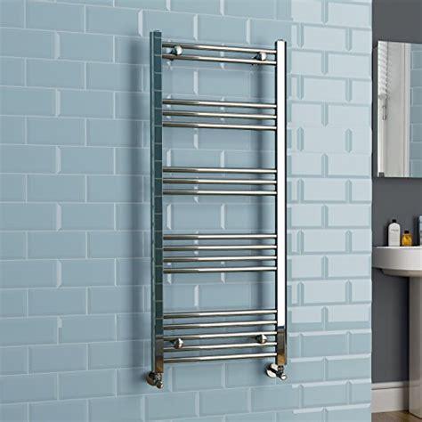 cheap bathroom radiators towel rails ibathuk kudox 1200 x 500 chrome heated towel rail