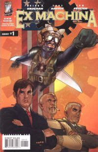 ex machina wiki ex machina comic book series fandom powered by wikia