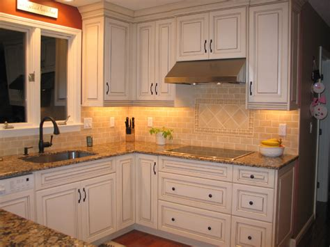 kitchen cabinets lights counter lighting casual cottage