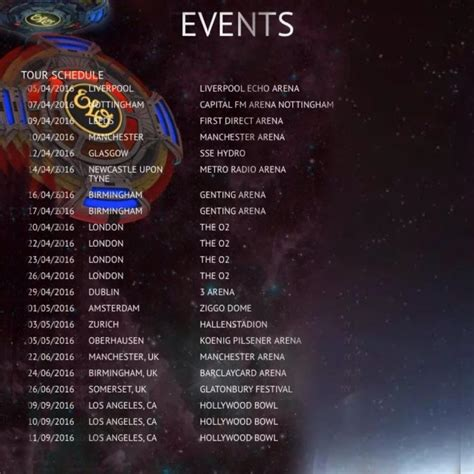 electric light orchestra tour electric light orchestra 2017 concerts