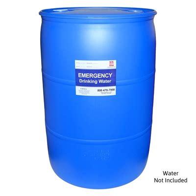 emergency water barrel  gallon water storage