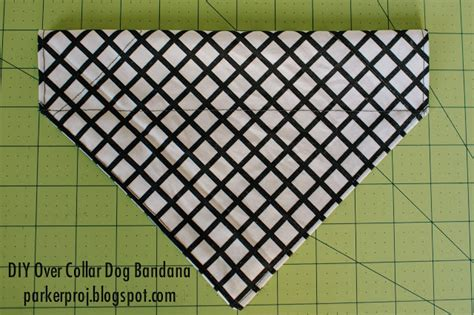 the parker project over the collar dog bandana tutorial