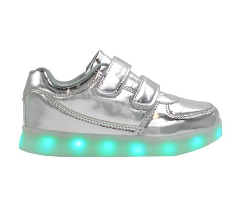 silver light up shoes led shoes pink wings led sneakers unisex shoes