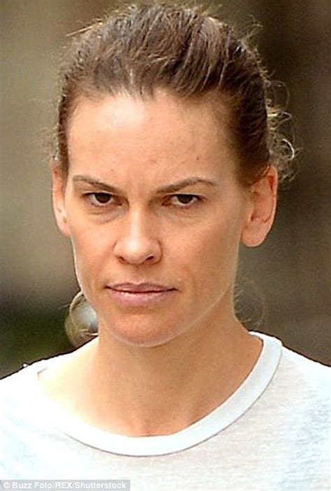 Hilary Swank Looks Great Until You Get To The by Before And After Pictures Taken Reveal Difference Make Up