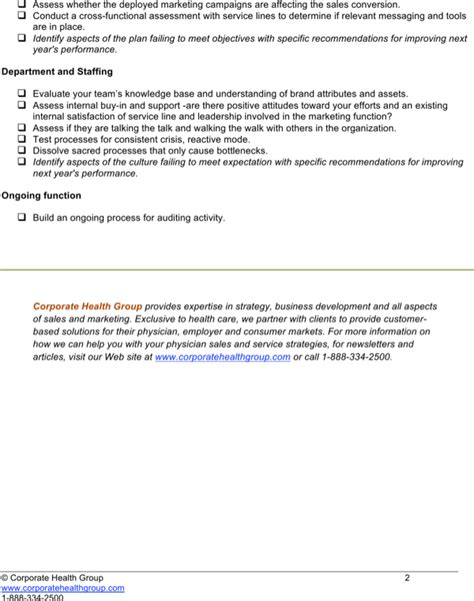 marketing audit template marketing audit checklist template for free