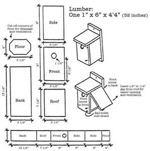 Western Bluebird House Plans Woodwork Bird House Plans For Pdf Plans