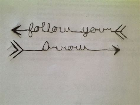 follow your arrow tattoo 1000 ideas about arrow foot on crossed