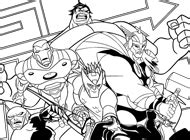 ultimate avengers coloring pages ultimate avengers colo