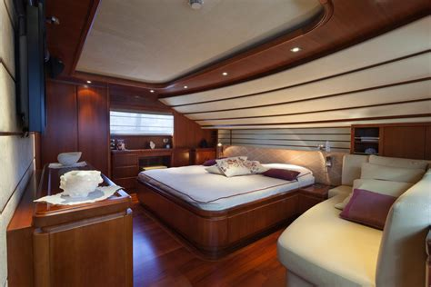 yacht bedroom anne marie owner suite luxury yacht charter
