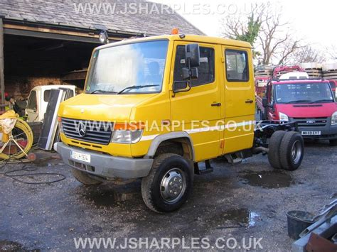 mercedes truck 4x4 mercedes 814 da 4x4 crew cab for sale j sharples
