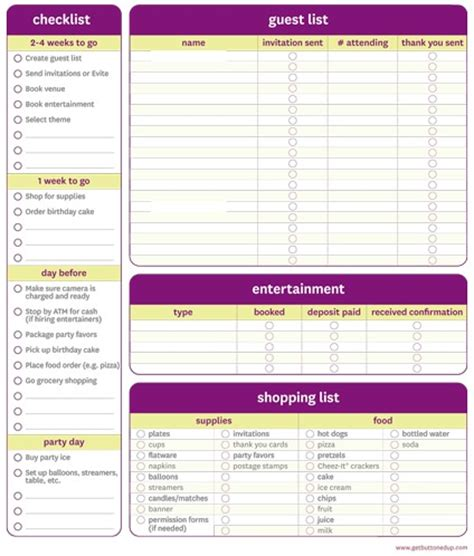 printable party planning list 11 free printable party planner checklists tip junkie