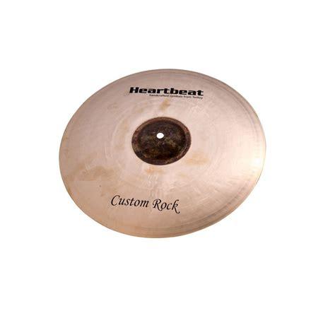 Handmade Cymbals - custom rock hi hat cymbals heartbeat worship