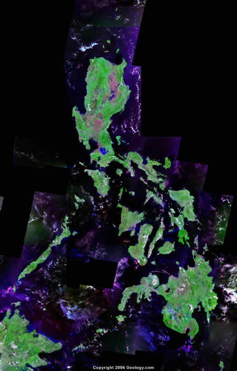 map philippines satellite philippines map and satellite image