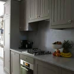 Grey Kitchens Grey Kitchen Cabinets With Marble Worktops Housetohome Co Uk